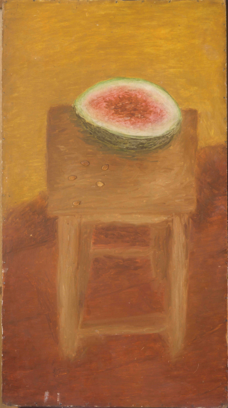 Still life with a Watermelon